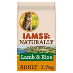 Iams Naturally Adult Cat with New Zealand Lamb & Rice