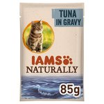 Iams Naturally Adult Cat Pouch with Tuna