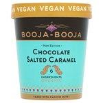 Booja Booja Organic Chocolate Salted Caramel Ice Cream