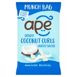 Ape Crispy Coconut Curls Lightly Salted Munch Bag