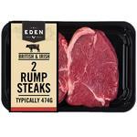 Eden 2 Beef Rump Steaks