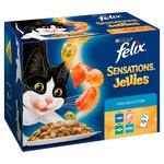 Felix Sensations Jellies Cat Food Fish