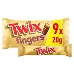 Twix Biscuit Fingers