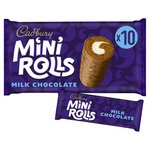 Cadbury Mini Rolls Milk Chocolate Family Size