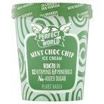 Perfect World No Added Sugar Mint Chocolate Chip Ice Cream