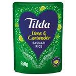 Tilda Steamed Basmati Lime & Coriander