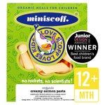 Miniscoff Organic Creamy Salmon Pasta Frozen