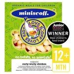 Miniscoff Organic Curly Wurly Chicken Frozen