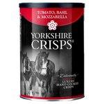 Yorkshire Crisps Tomato, Basil & Mozzarella Luxury Crisps