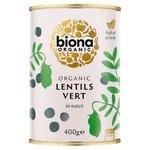 Biona Organic Lentils Vert