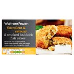 Waitrose 2 Smoked Haddock Fish Cakes Frozen