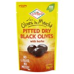 Crespo Dry Black Olives With Herbs