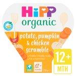 HiPP Organic Potato, Pumpkin & Chicken Scrumble 12+ Months