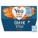 Yeo Valley Organic Greek Style with Honey Yogurt