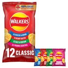 Walkers Variety Pack Crisps 25g x
