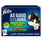 Felix As Good As It Looks Veg Selection in Jelly