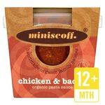 Miniscoff Chicken & Bacon Organic Sauce