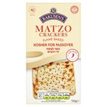 Rakusen's Matzo Passover Crackers
