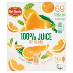 Del Monte 100% Juice Orange Lollies