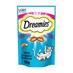 Dreamies Cat Treats with Salmon