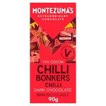 Montezuma's Dark Chocolate with Chilli Bar
