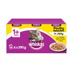 Whiskas Cat Tins Poultry in Jelly