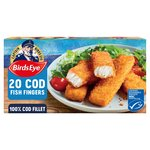 Birds Eye 20 Cod Fish Fingers