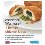 Essential Waitrose 2 Chicken Kievs Frozen