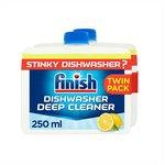 Finish Twin Pack Dishwasher Cleaner Lemon