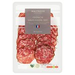 Waitrose French Saucisson Sec de Provence