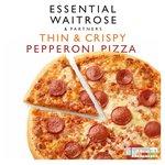 Essential Waitrose Pepperoni Pizza Frozen