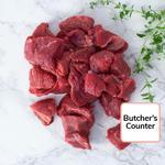 Waitrose Diced Beef Braising Steak Aberdeen Angus