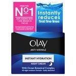 Olay Anti Wrinkle Instant Hydration Moisturiser Night Cream