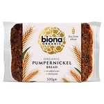 Biona Organic Pumpernickel Bread Sliced