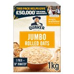 Quaker Oats Jumbo Rolled Oats Porridge
