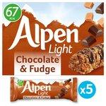 Alpen Light Bars Choc & Fudge Bars