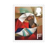 Christmas 2016 1st Class Stamps Book