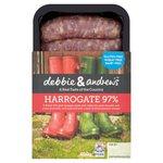 Debbie & Andrew's 97% Pork Harrogate Sausages