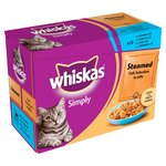 Whiskas Simply Cat Pouch Fish Jelly