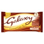 McVitie's Galaxy Caramel Cake Bars