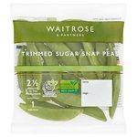 Waitrose Ready Trimmed Sugar Snap Peas