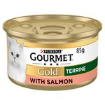 Gourmet Gold Cat Food Terrine with Salmon