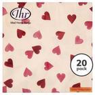 Emma Bridgewater 3ply Hearts Paper Napkins 33cm