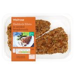 Waitrose 2 Icelandic Haddock Fillets in Mixed Seed Crumb