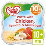 Cow & Gate Creamy Chicken Pasta with Tomato & Mushroom Steamed Meal