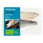 2 Boneless Seabass Fillets Waitrose
