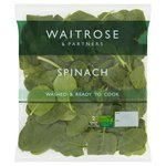 Ready Washed Spinach Waitrose