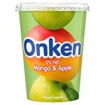 Onken Biopot Fat Free Mango & Apple Yogurt