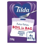 Tilda Wholegrain Basmati Cook in the Bag