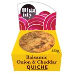 Higgidy Little Quiche Balsamic Onion & Cheddar